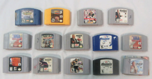 *Wanted* All Nintendo 64 sports and shovelware games.