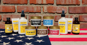 Layrite: Deluxe Pomade & Hair Products for Men each cement clay
