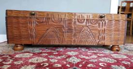 Solid wooden box/handmade