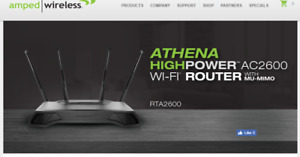 Router  AC-2600 Athena High Power