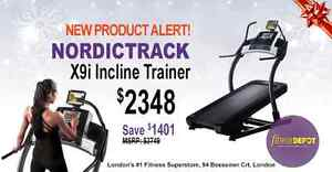 NordicTrack, Precor, OMA, Northern Lights treadmills