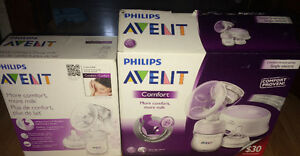 Avent comfort electric and manual breast pump like NEW