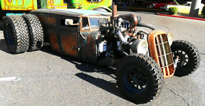 Rat rod project for motorcycle