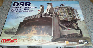 Meng 1/35 Caterpillar D9R Doobi Armored Bulldozer w/ SLAT armour