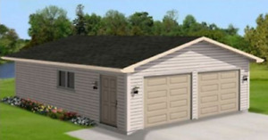 20 x 24 Turnkey Gable Garage Package by Allen Homes