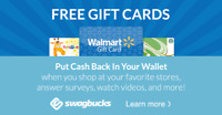 Earn free gift cards for filling out surveys!