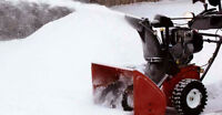 SNOW REMOVAL (Pay per visit/ Month) North - South - East - West