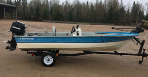 16ft Boat/Motor/Trailer, Ready to Fish