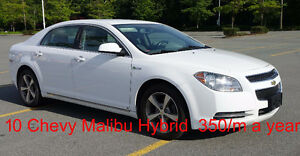 Rent to Own it! 2010 Chevrolet Malibu Hybrid Excellent condition