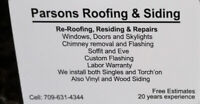 Parsons Roofing & Siding