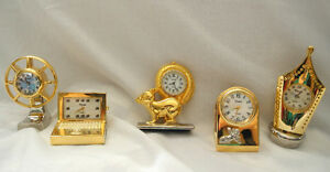 21 Miniature Xanadu Clocks for sale
