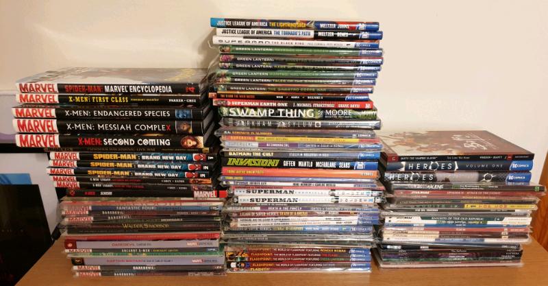 Marvel DC Comic Graphic Novels & Trade Paperbacks | in Harlow, Essex |  Gumtree