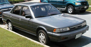 H Toyota Camry 1987 1988 1989 1990 1991 Parts C Pièces