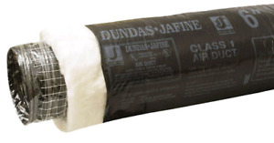 Dundas Jafine Flexible Insulated Ducting 6 inch