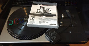 DJ Hero with Turntable ($30 OBO)