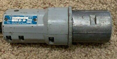 Eaton Crouse Hinds APJ6485 Arktite plug 60 amp 3 wire Nema 4  NEW CLEAN STOCK