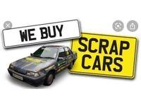 Car van bike wanted scrap my car for cash running or not sell we buy