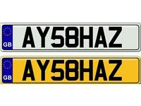AYESHA OR AYESHA'Z - A VERY SPECIAL NAME ON A PRIVATE NUMBER PLATE FOR SALE