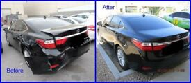 Cheap car body repair/dent/auto body starting from £25 & up