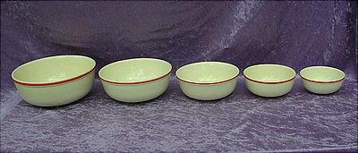 5 alte Keramikschüsseln Wächtersbach