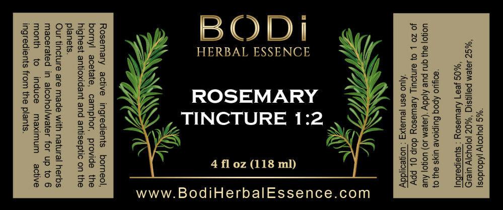 ROSEMARY Tincture 1:2 Concentration - Amazing Skin Antiseptic (2 4 8 oz) 1