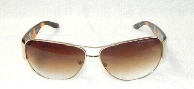 ARMANI EXCHANGE AX045/S SUNGLASSES  65-14-120 Tortoise Brown (Armani Exchange Aviator Sunglasses)