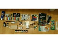 Artist materials - paints, brushes, inks, oil pastels, charcoal, crayons, spray paint, markers etc