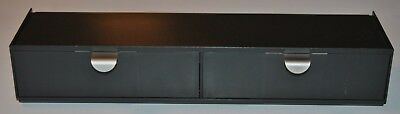 Martha Stewart Home Office Avery Wall Manager Drawer Set Graphite