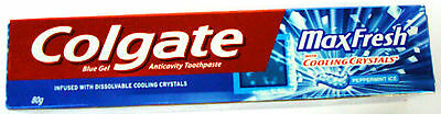 Colgate MaxFresh Tooth Paste :: 80 GM :: Peppermint Ice :: Cooling Crystals