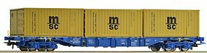 Roco H0 76922 Containertragwagen
