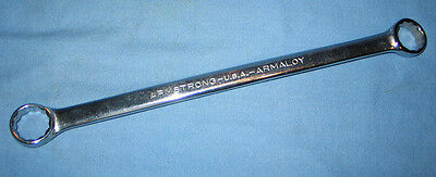 Armstrong 26-751 Armaloy 1516 X 1 Offset Double Box End 12pt Wrench New