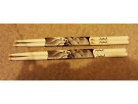2 pairs of Vic Firth Jojo Mayer Signature drum sticks