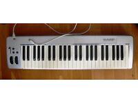 M AUDIO KEYSTATION 49 MIDI CONTROLLER