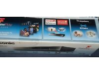 PANASONIC SMART 3D 4K BLU-RAY PLAYER RECORDER + FREEVIEW PLAY - NO SUBSCRIPTION NEEDED