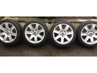 """Genuine BMW 17"""" Alloys Alloy Wheels"""