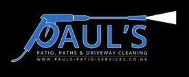 Professional, Reliable, Patio, Paths & Driveway Cleaning @ Unbeatable Prices