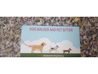 Dog Walker, Pet Visets and Pet Sitter Available