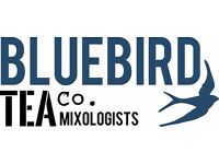 Tea Mixologist roles with Bluebird Tea Co. at NEW *MANCHESTER* store!