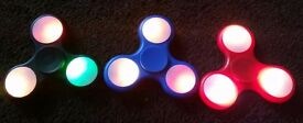 NEW changes colour/speed LED Fidget spinners ON/OFF Switch (plus others)