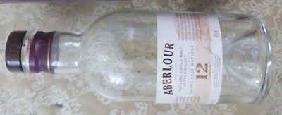 Aberlour Whisky Empty Bottle only + Card box,  no alcohol  for sale  Shipping to Canada