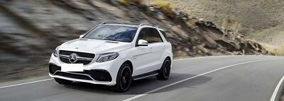 Chiptuning Mercedes GLE 63 AMG 558PS auf 660PS/1100NM Vmax offen! 410KW 4Matic