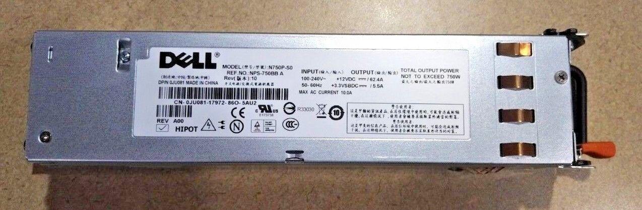 PowerEdge 2950 Dell N750P-S0 750W Power Supply PSU  NPS-750BB A Rev 06 Y8132