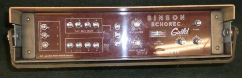 Guild Binson Echorec A 606 TR Effects Echo Rack A606TR **Rare**