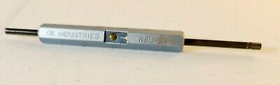 Ok Industries Wire Wrapping Stripping Tool Metal Blue Wsu-30m 26 Gauge