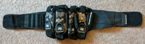 Empire 4+7 Black Hex Harness Buttpack