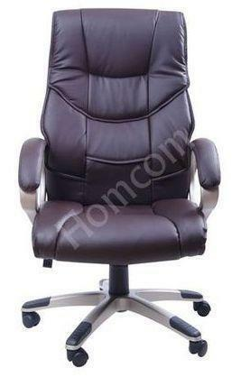 Brown Leather fice Chair