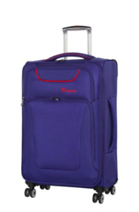 "IT Luggage Vibrance 27.5"" 8 Wheel Lightweight Spinner - ONLY $75"