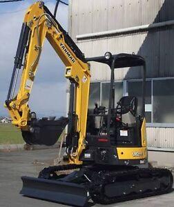 5 tonne Yanmar zero swing excavator DRY HIRE Eagle Farm Brisbane North East Preview