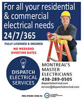 Licensed Master Electricians in Montreal – Free Quotes!