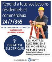 Électriciens maîtres agréés – Soumissions gratuites